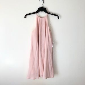 Pretty light pink dress